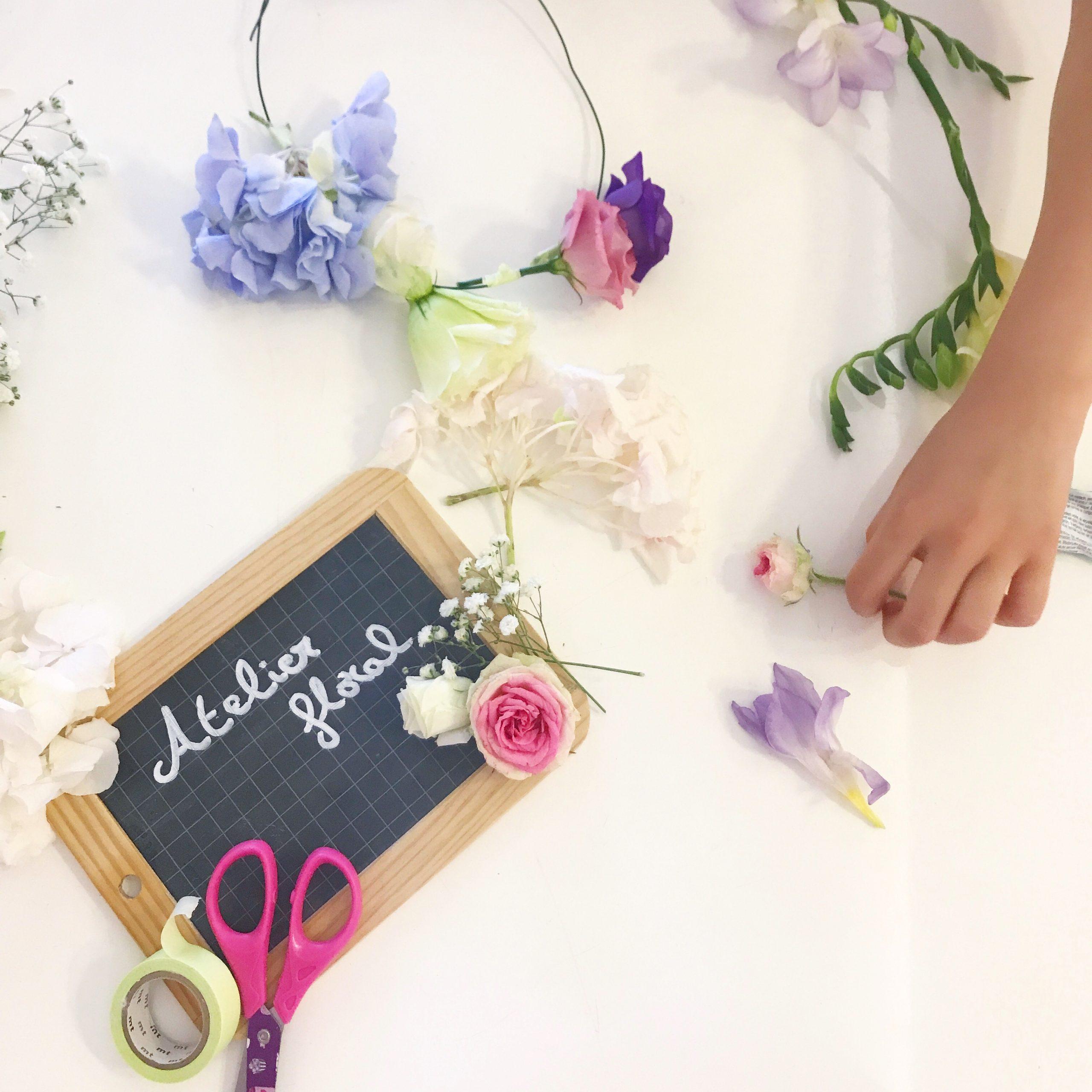 Atelier Floral enfant